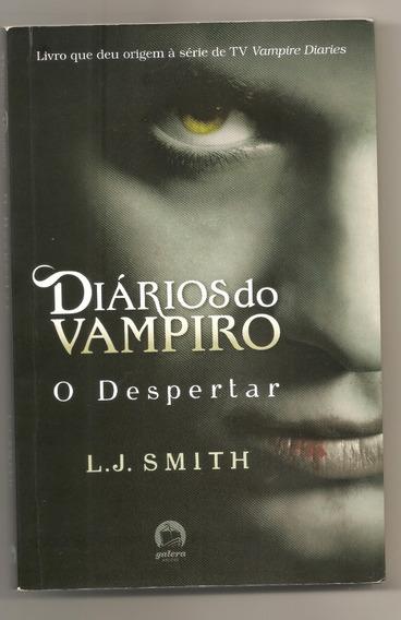 Livro Diários Do Vampiro - O Despertar