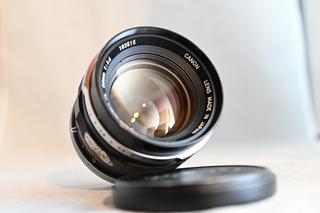 Lente Canon 50mm F1.4 Fl Ideal Filmacion Sony E Nikon Z
