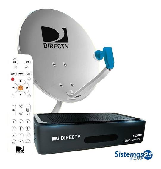 Antena + Decodificador Hd Directv + Control Prepago Nuevo