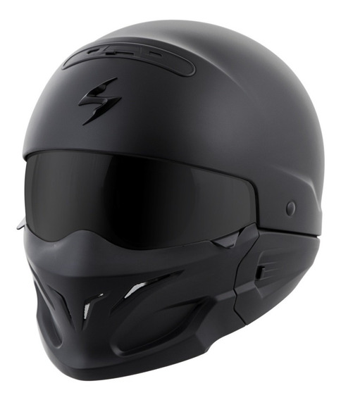 Casco Scorpion Exo Covert Negro Mate