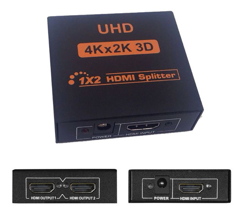Splitter Hdmi 1 A 2 4k