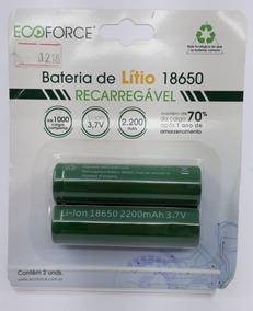 Bateria De Lítio Recarregável Solar 2200mah 3,7v - A