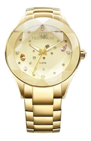 Relógio Technos 2039atdtm/4x Cristal Swarovski Elegance