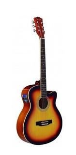 Guitarra Electroacustica Ag10-lc5-ts Tex Texas