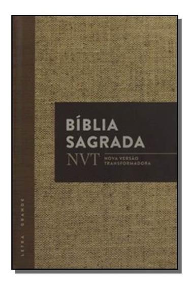 Biblia Sagrada Nvt Juta Letra Grande