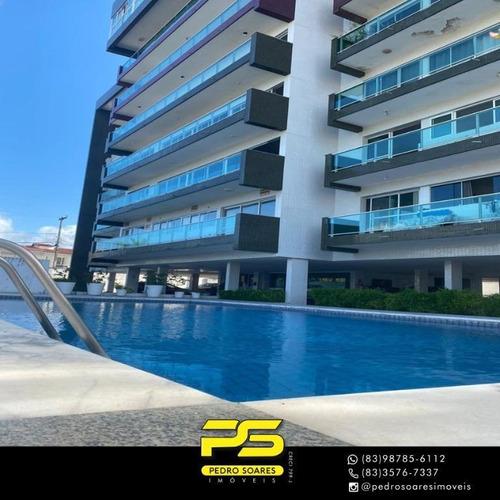 Imagem 1 de 26 de Cobertura Com 5 Dormitórios À Venda, 280 M² Por R$ 850.000 - Camboinha - Cabedelo/pb - Co0077