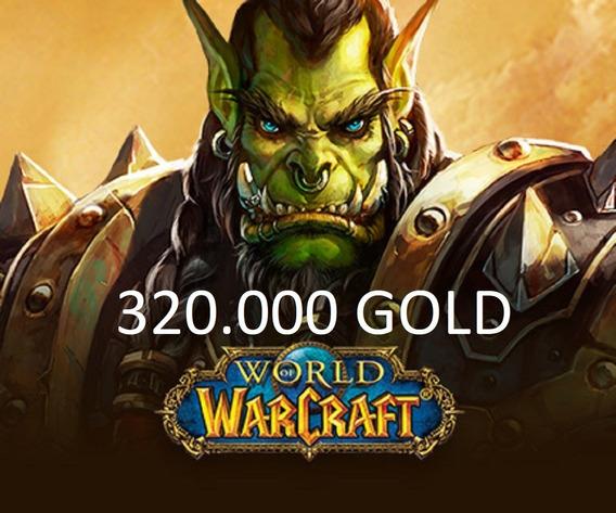 320k Ouro Gold Wow Azralon - Horda & Aliança