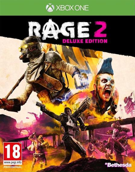 Rage 2 Deluxe Xbox One - Envio Rápido (25 Dígitos)