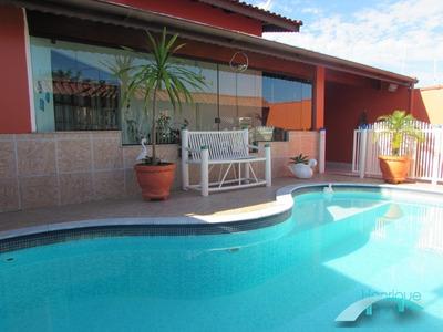 Casa Lado Linha - Mobiliada - Piscina - 4 Dormitórios - São José - Peruíbe/sp - Ca00447 - 33974606