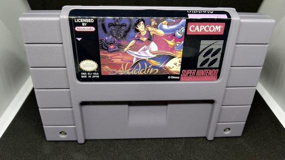 Fita / Cartucho Aladdin Super Nintendo 12x Sem Juros