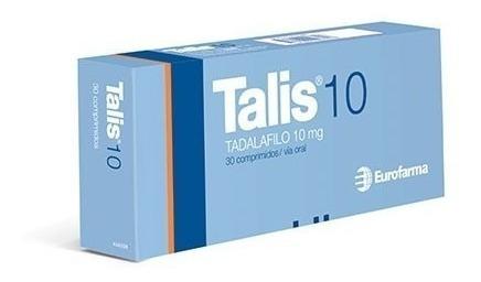 Talis 10 Mg 30 Comp - (tadalafil) - Eurofarma®
