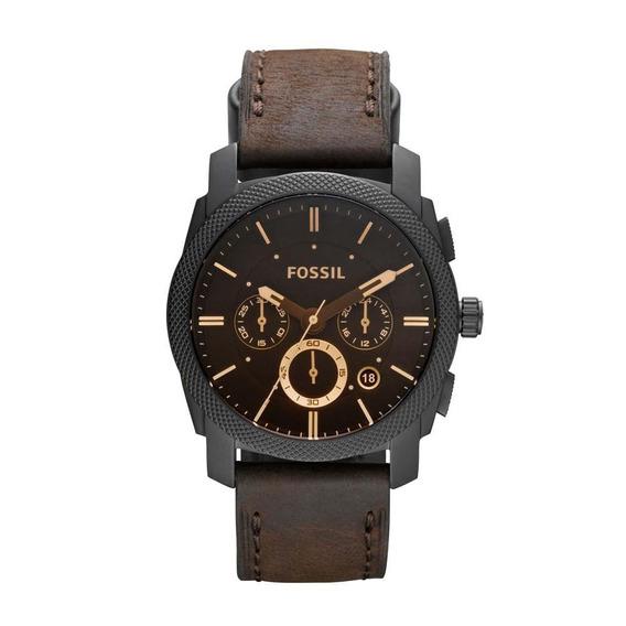 Relógio Masculino Fossil Analógico Ffs4656/z 42mm Couro