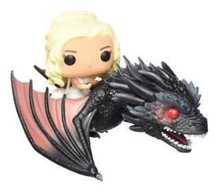 Funko Pop - Daenerys Y Drogon (15) - Game Of Thrones