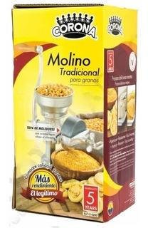 Molino Corona De Maíz Granos Café Original Colombiano