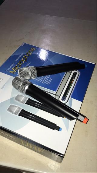 Microfone Sem Fio Blg Duplo Blz Só Usei Uma Única Vez