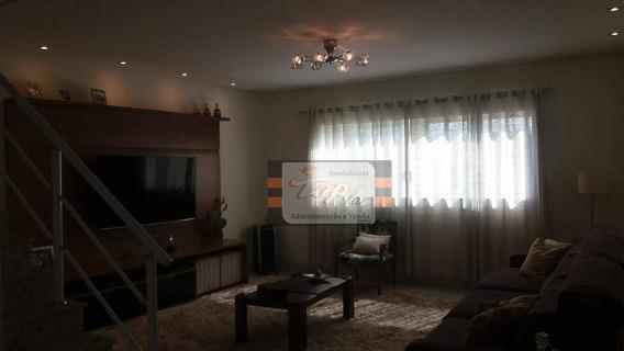 Sobrado Com 3 Dormitórios À Venda, 180 M² Por R$ 990.000 - Vila Pereira Barreto - São Paulo/sp - So0684
