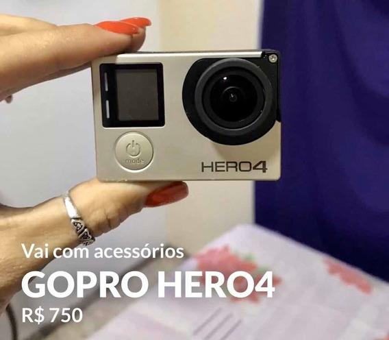Gopro Hero4 Acompanha Acessórios