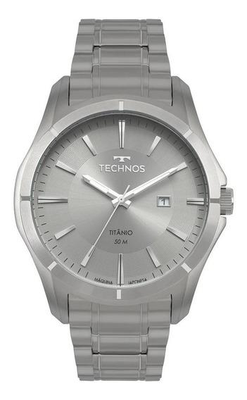 Relógio Technos Prata Masculino Executive 2115mtw/4c