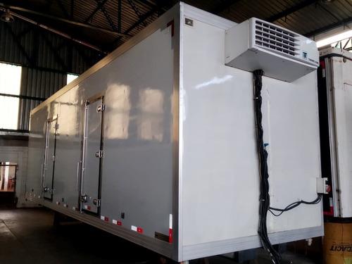Imagem 1 de 9 de Bau Refrigerado 16 Palates (motor Termoking)