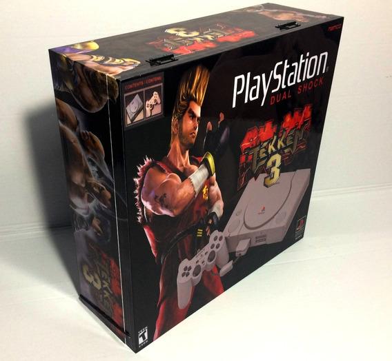 Caixa Vazia Playstation 1 Tekken De Madeira Mdf