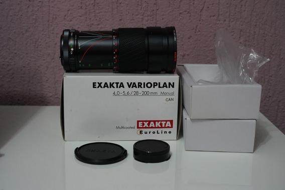 Lente Exakta Varioplan - Canon Fd - 28-200mm F4,0-5,6