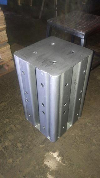 Cubo 5 Faces 50cm Altura Q30 Aço Carbono