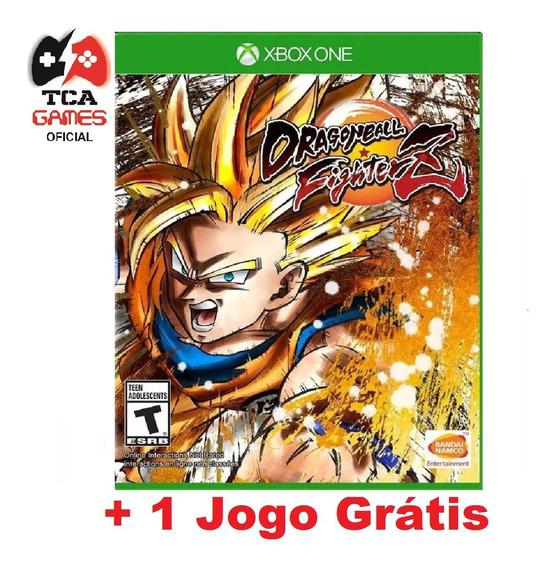 Dragon Ball Fighter Z Xbox One Mídia Digital + Brinde