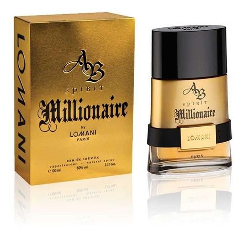 Perfume Locion Ab Spirit Millionaire Hom - L a $800