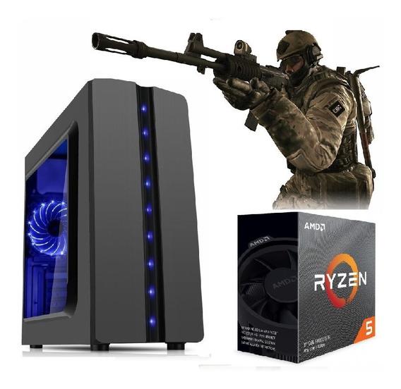 Pc Ryzen5 3400g Vega11 Granphis+hd 1tb+8gb Ram+400w Lança
