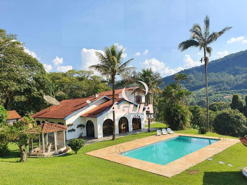 Sítio Com 5 Dormitórios + Área De Pasto À Venda, 31729 M² Por R$ 2.100.000 - Zona Rural - Piracaia/sp - Ch0001