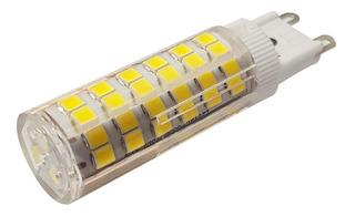 Pack X 10 Lampara Led G9 Blanco Neutro Bi-pin Dimerizable