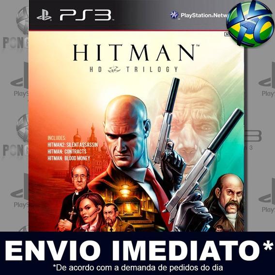 Hitman Trilogy Hd Ps3 Psn Jogo Em Promoção A Pronta Entrega
