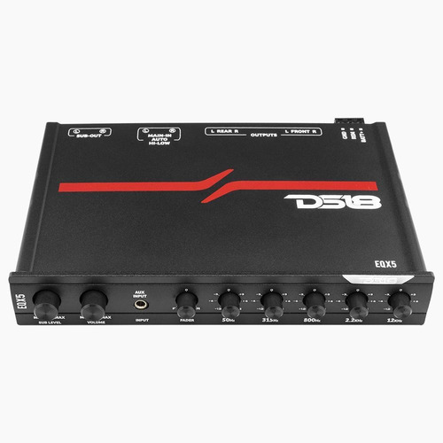 Ecualizador Ds18 De Alto Voltaje Eqx5 5 Canales