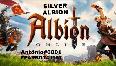 Prata De Albion Online, 50m Em Estoque