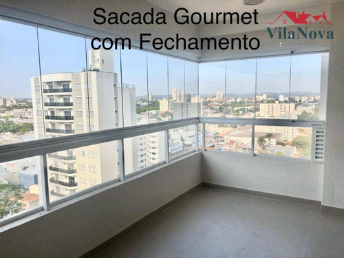 Apartamento Com 3 Dormitórios À Venda, 128 M² Por R$ 1.100.000,00 - Edifício Due - Indaiatuba/sp - Ap2426