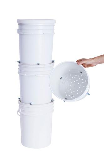 Compostera Con Lombrices Para 3-4 Personas /saavedra