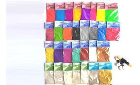 Kit C/30 Pigmento (30gr) Fluor/croma/perolado/metalico