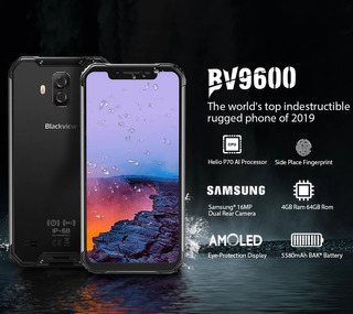 2019 Nuevo Blackview Bv9600 Impermeable Android 9,0