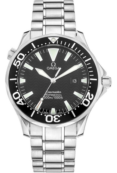 Relógio Omega Seamaster 41mm ( Full Size ) Quartz 300 Mts