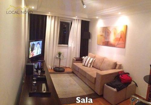 Imagem 1 de 9 de Apartamento Residencial À Venda, Parque São Jorge, São Paulo. - Ap0463
