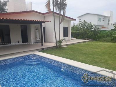 Casa En Venta En Lomas De Cocoyoc Olc-0736