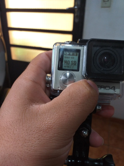Gopro Hero 4 Silver - Lcd (touch) Embutido + Cartão 32gb