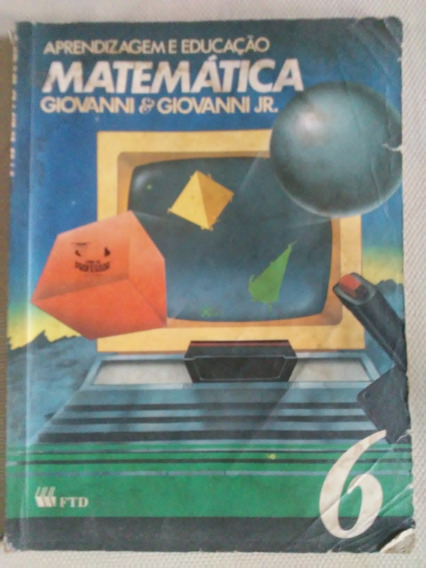 Matemática Aprendizagem E Educaçao 6 Livro Do Professor