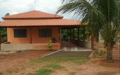 Chácara À Venda, 750 M² Por R$ 250.000,00 - Estância Vale Do Sol - Arealva/sp - Ch0147