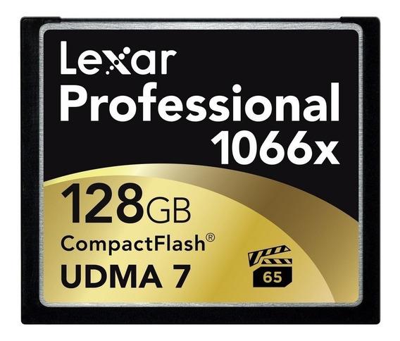 Memoria Compact Flash 128 Gb Lexar Professional 1066x