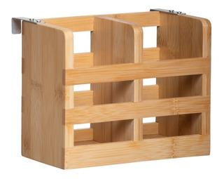 Escorredor De Talheres Bambu Para Cozinha Pia Orgânico Yoi