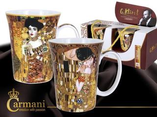 Set 2 Taza 300 Ml El Beso Y Adele En Porcelanas