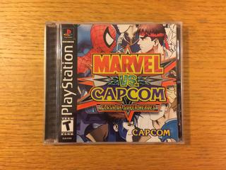 Marvel Vs Capcom Ps1 Ps2 Ps3 Playstation 1 Colección Psone