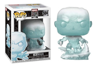 Funko Pop Marvel 80 Years X-men Iceman 504 Original Nuevo