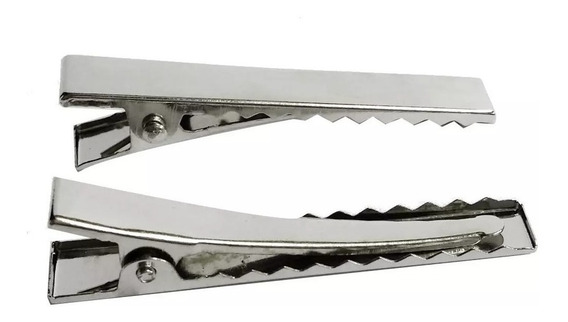 Bico De Pato Presilha 75mm Niquelado 200 Unidades